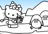 Coloriage Hello Kitty � Colorier