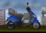 Tuning Scooter Piaggio Zip 100 1