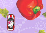Hello Kitty Voiture et L�gumes