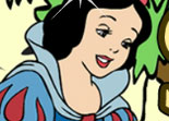 Blanche Neige Coloriage