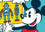 Mickey Mouse Robot
