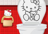Hello Kitty D�corer Salle de Bain