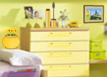Objets Cach�s Chambre Jaune