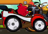 Angry Birds Course de Voiture