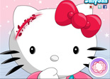 Hello Kitty Blessure
