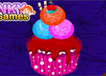 Glace Cupcake D�coration