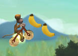 Bike Monkey Race for Bananas iPad