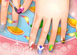 Ongles d'�t�