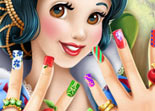 Ongles Blanche Neige