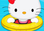 Hello Kitty D�coration de Piscine