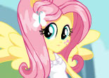 Poney Fluttershy Contre Humain