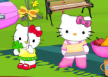 Hello Kitty Picnic en Famille
